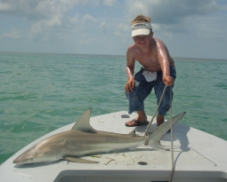 Key West Fishing Charter Guides Back Country Fishing